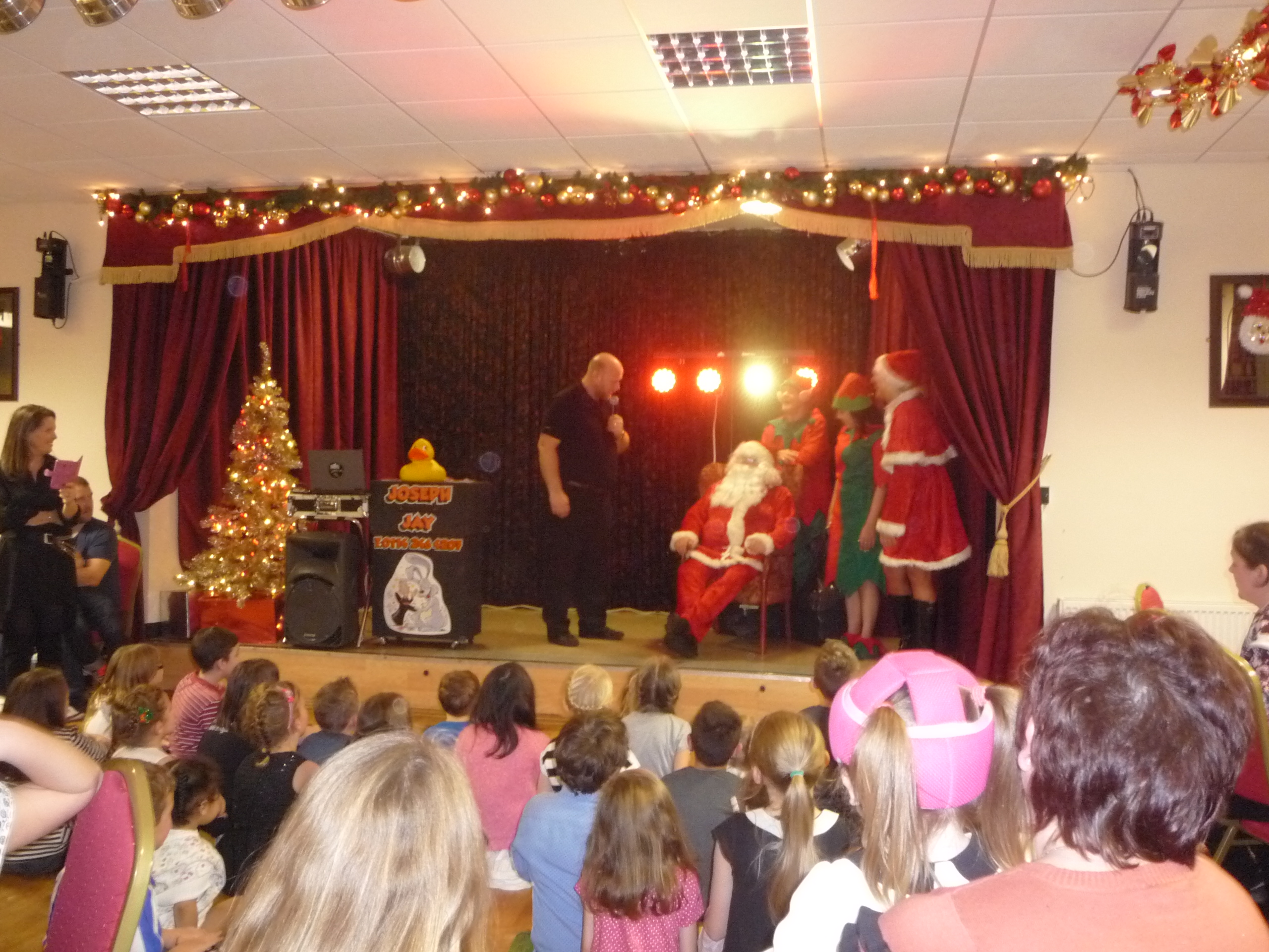 Our annual Christmas Kids Party
