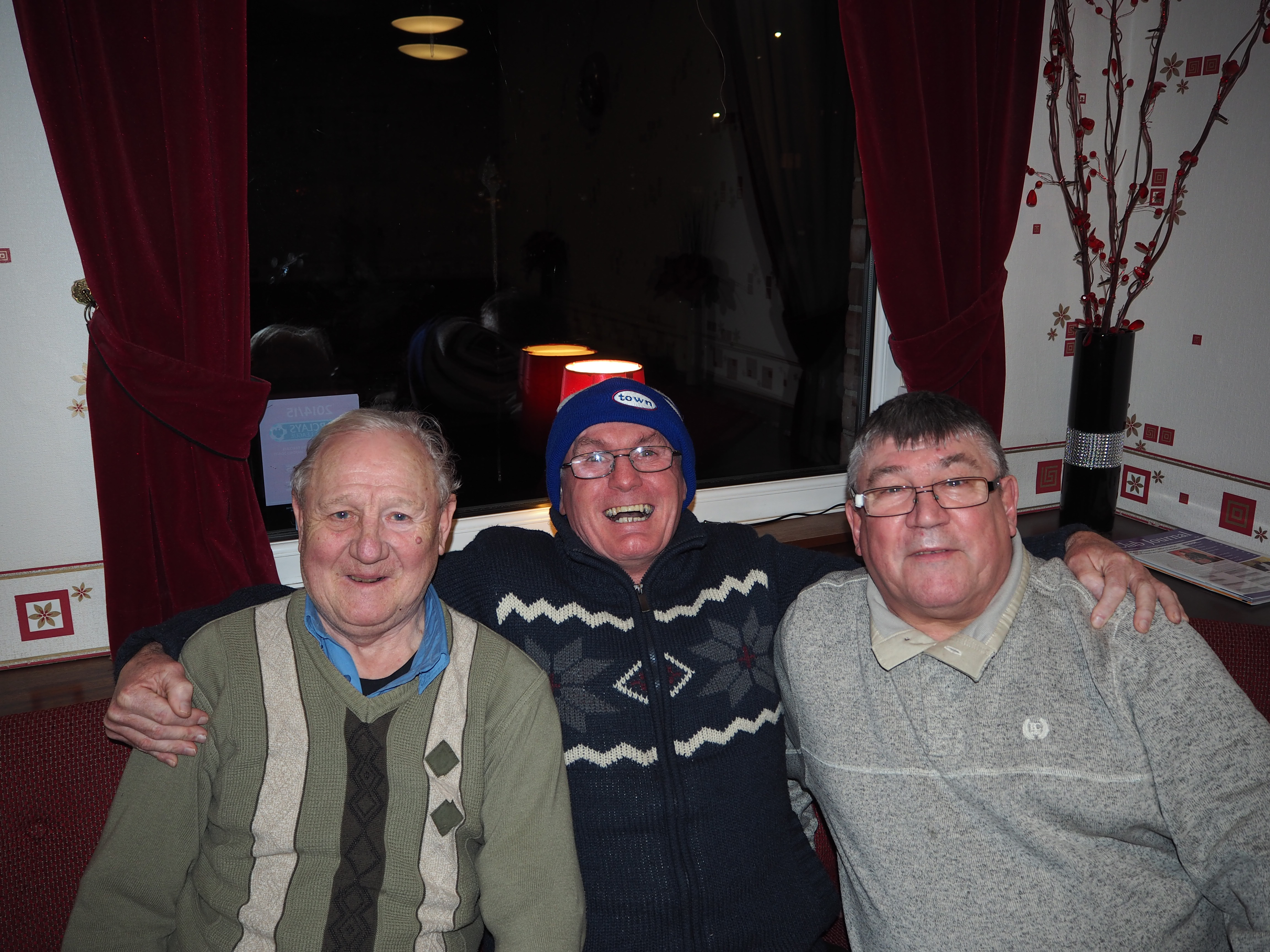 Keith, Peter and Les